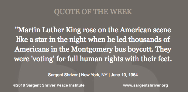"""Dr. Martin Luther King, Jr.: """"A Star in the Night"""""""