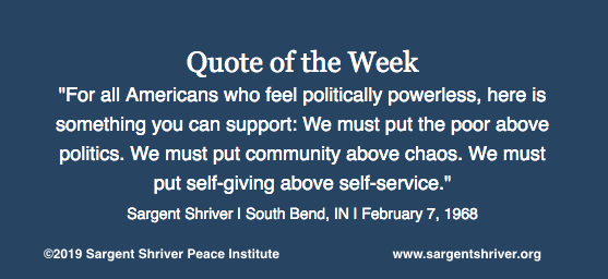 """For all Americans who feel politically powerless ..."""