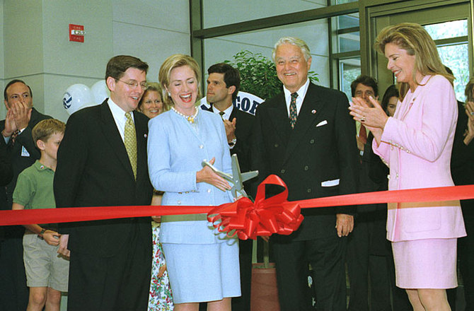 Peace Corps Building Dedication