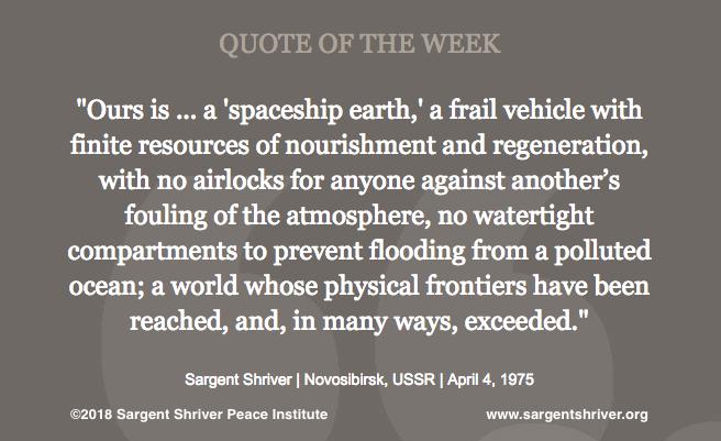 """""""Spaceship Earth"""""""