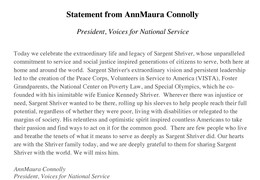 AnnMaura Connolly Letter