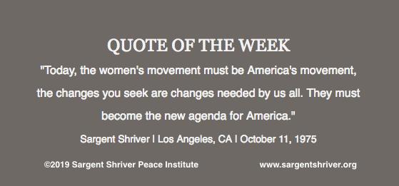 """The Women's Movement"""