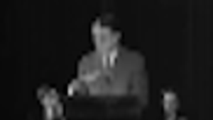 Sargent Shriver Speaks about the Peace Corps in New York -- 1965
