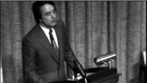 Shriver Speaking at Notre Dame 1974 Part 2