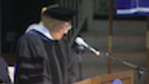 Sarge Marymount Commencement Thumbail