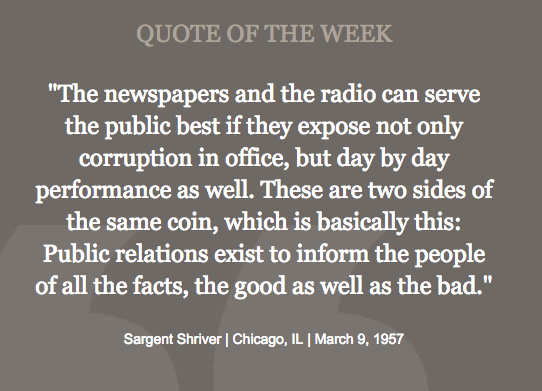 The Media and Public Service